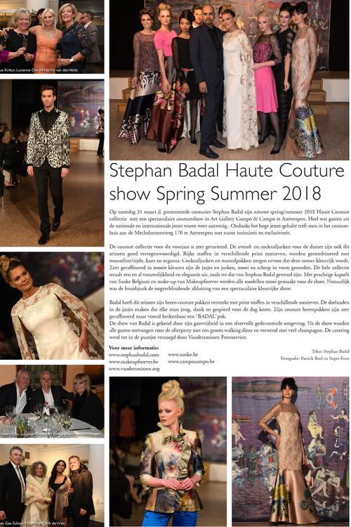 Avondjurken Le Couture.Press And Media Antwerp Stephan Badal